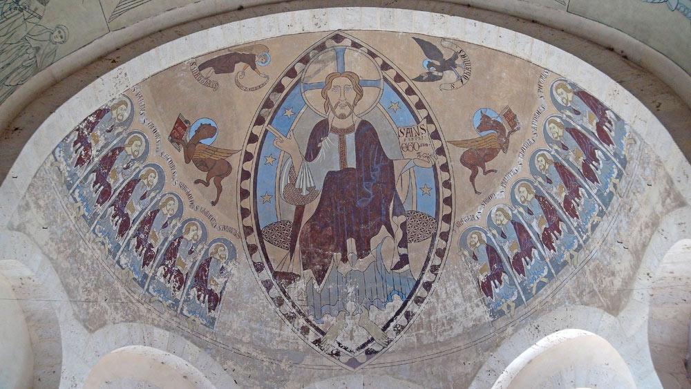 Fresque restaurée