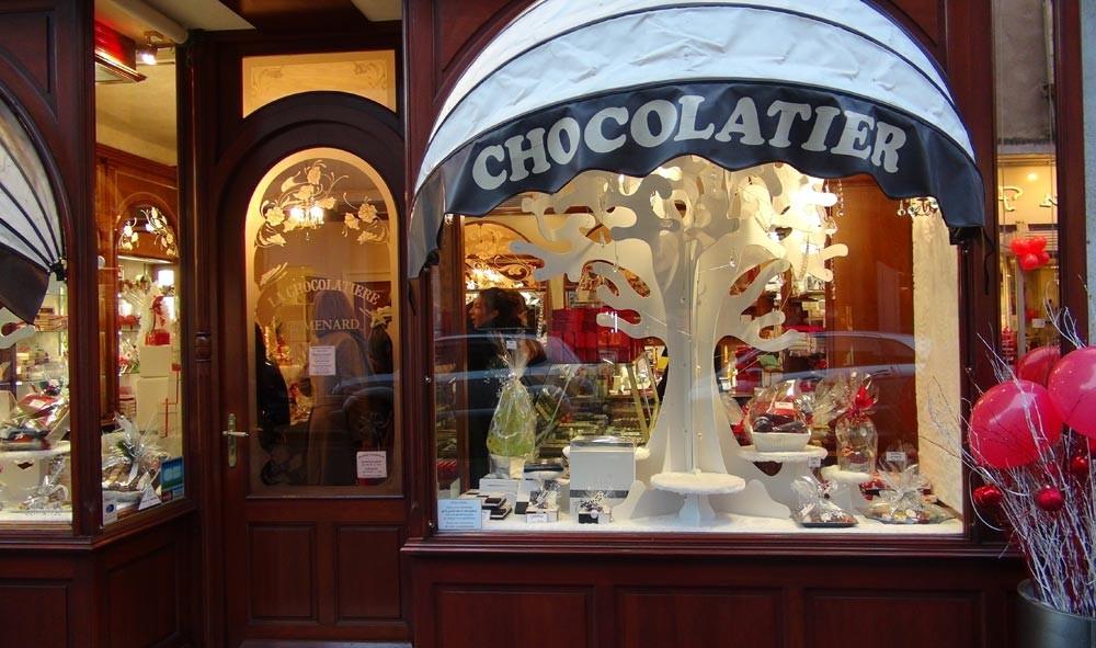 La boutique des chocolats