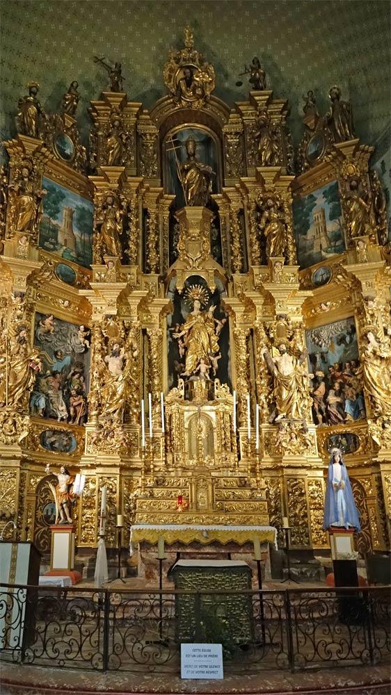 Retable du maître-hôtel de l'église Notre Dame des Anges