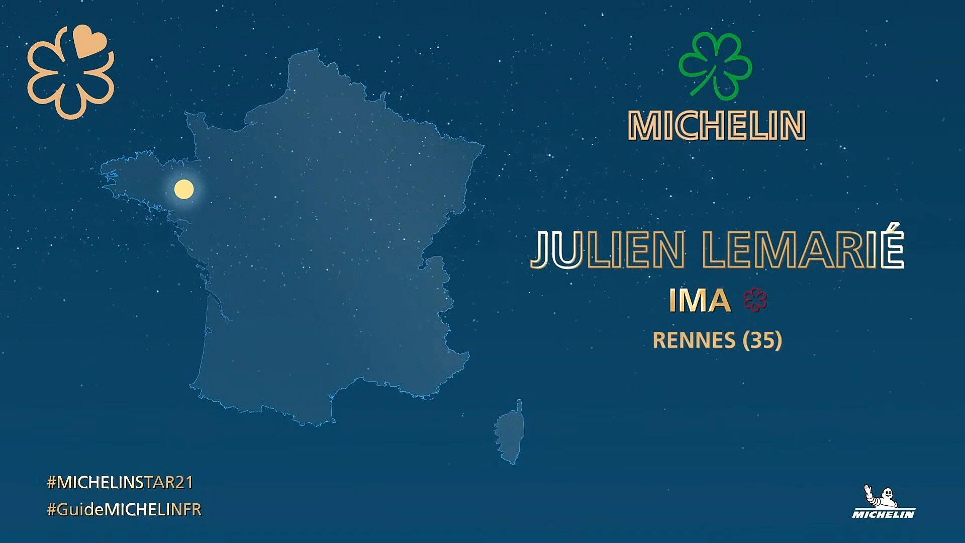 Un des récipiendaires - Crédit photo Michelin