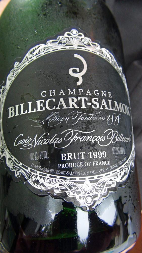 Champagne offert pour l'apéritif