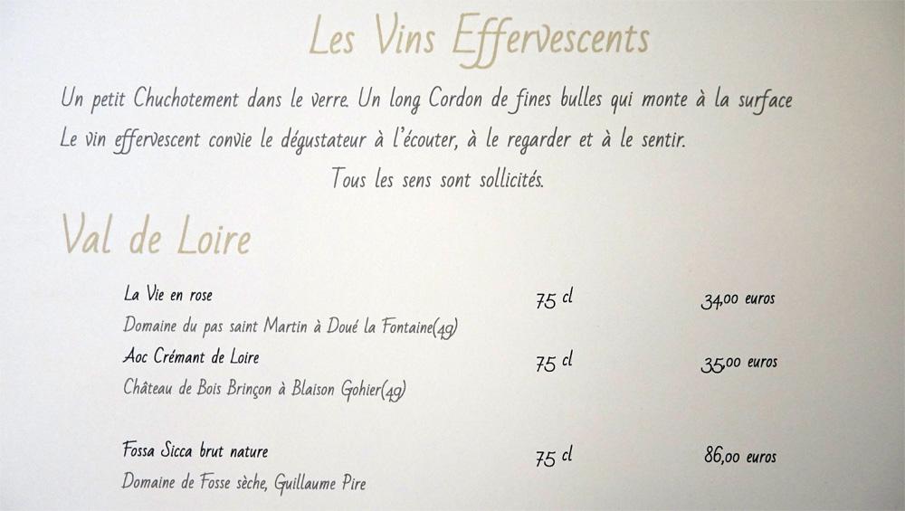 Vins effervescents du Val de Loire