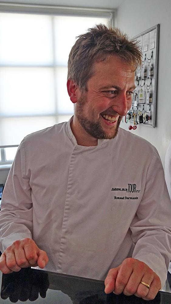 Le chef et propriétaire : Renaud Darmanin