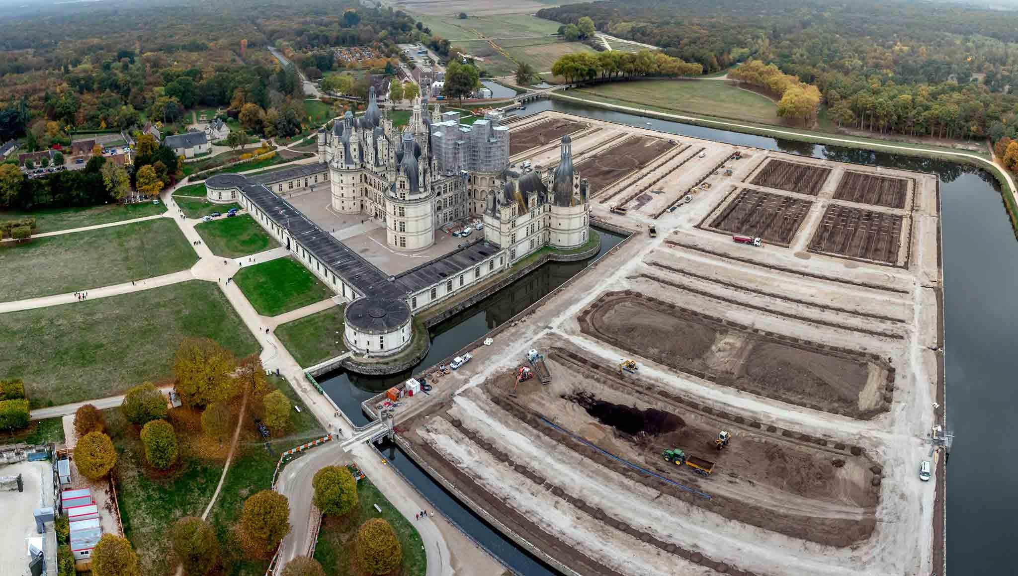Le château de Chambord et ses jardins (en formation)