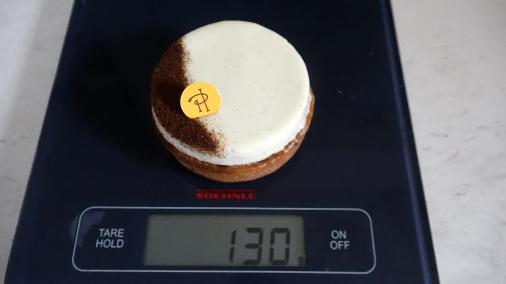 Tarte infiniment vanille : 130 g net