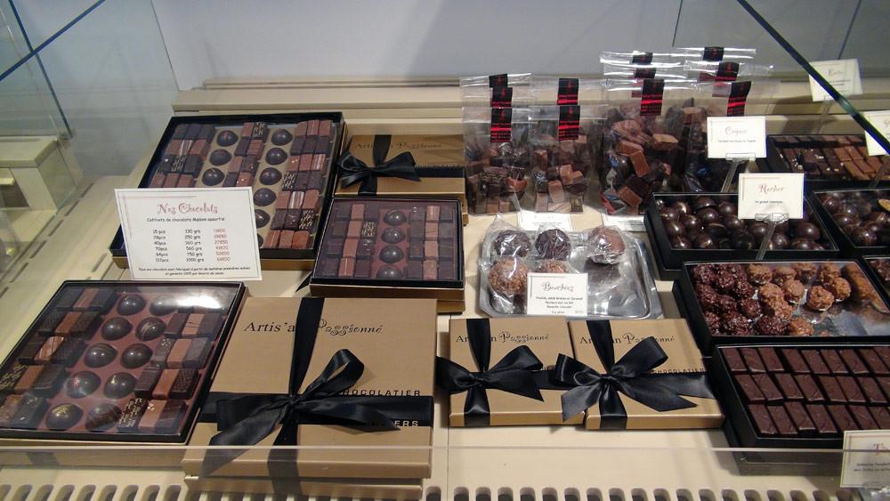 Chocolats en ballotin