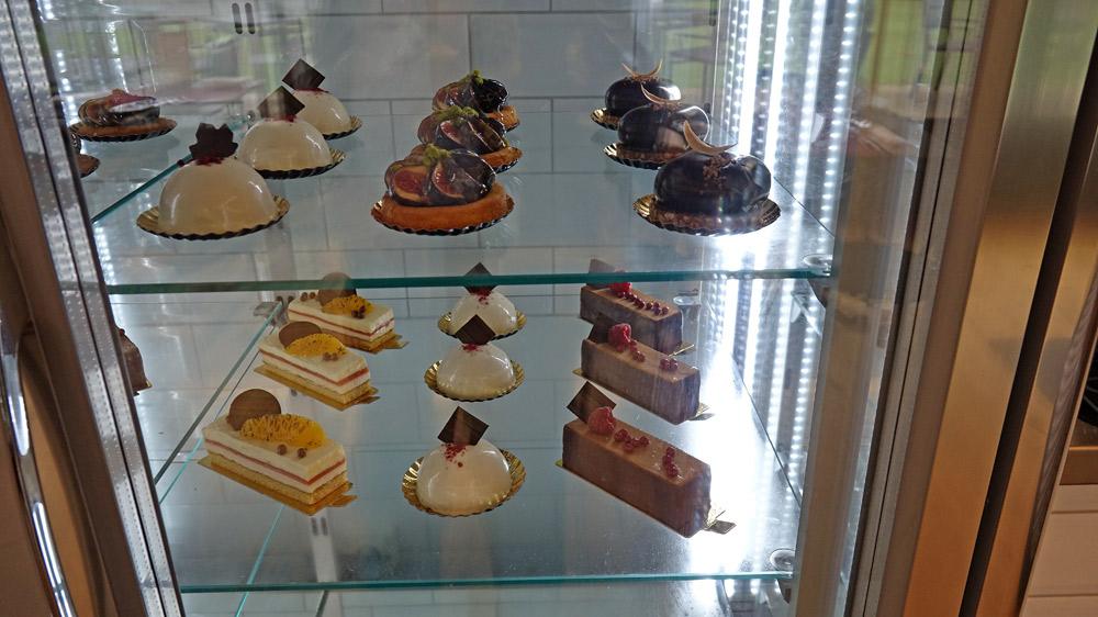 La vitrine des desserts