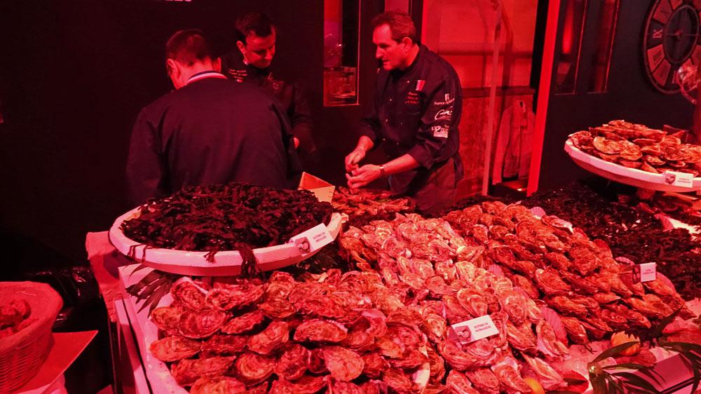 Les huîtres d'Agrimer