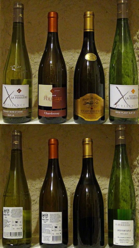 Les vins achetés