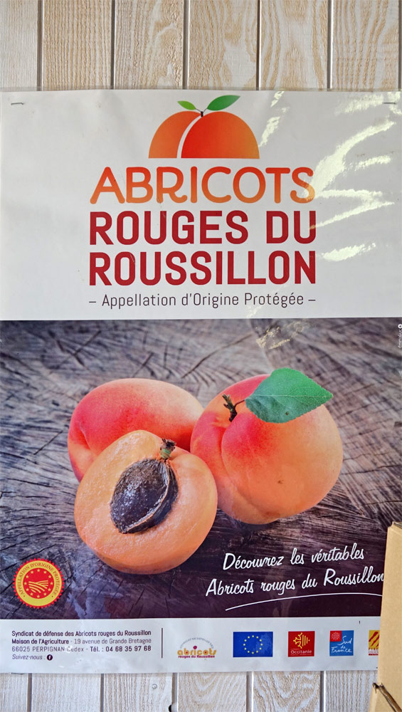 AOP Abricots rouges du Roussillon