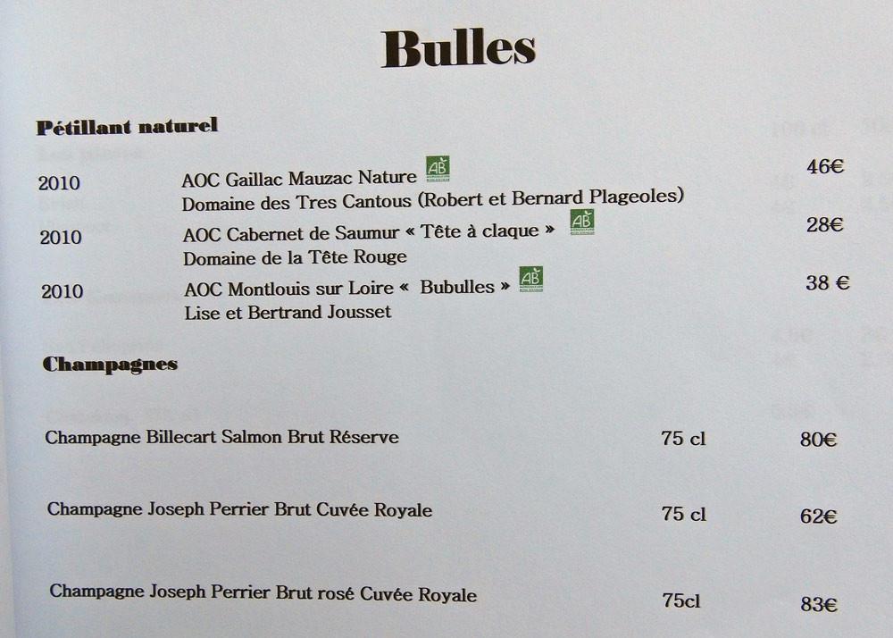 Les bulles