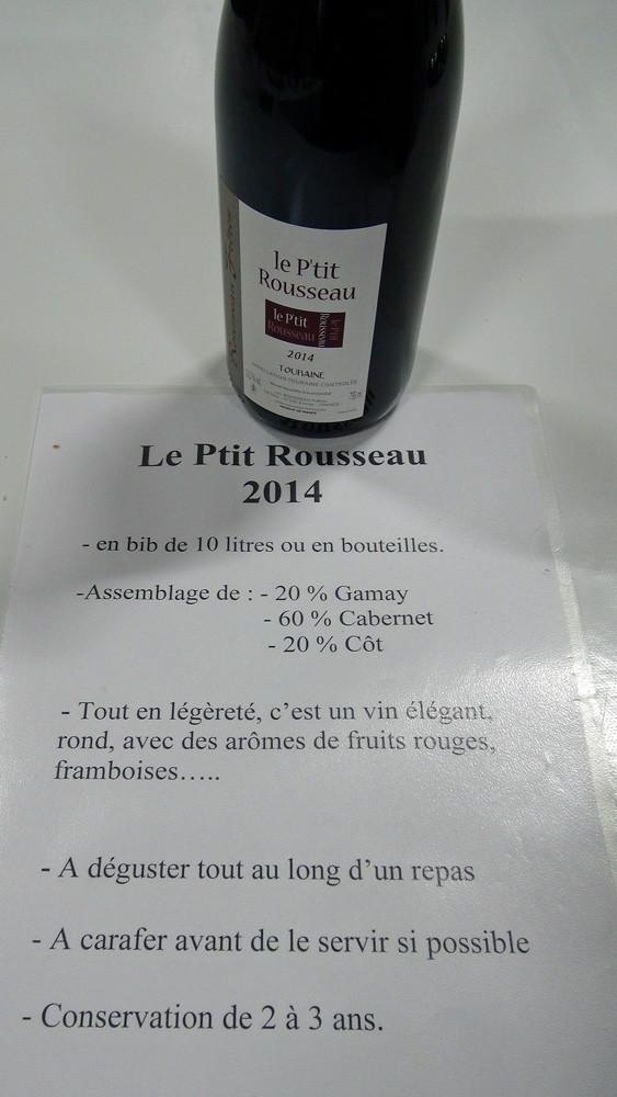 P'tit Rousseau 2014