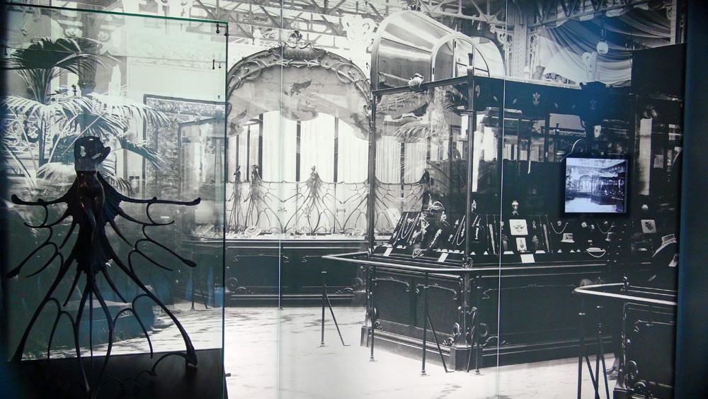 Photo issue du film retraçant l'Exposition universelle de 1900 à Paris