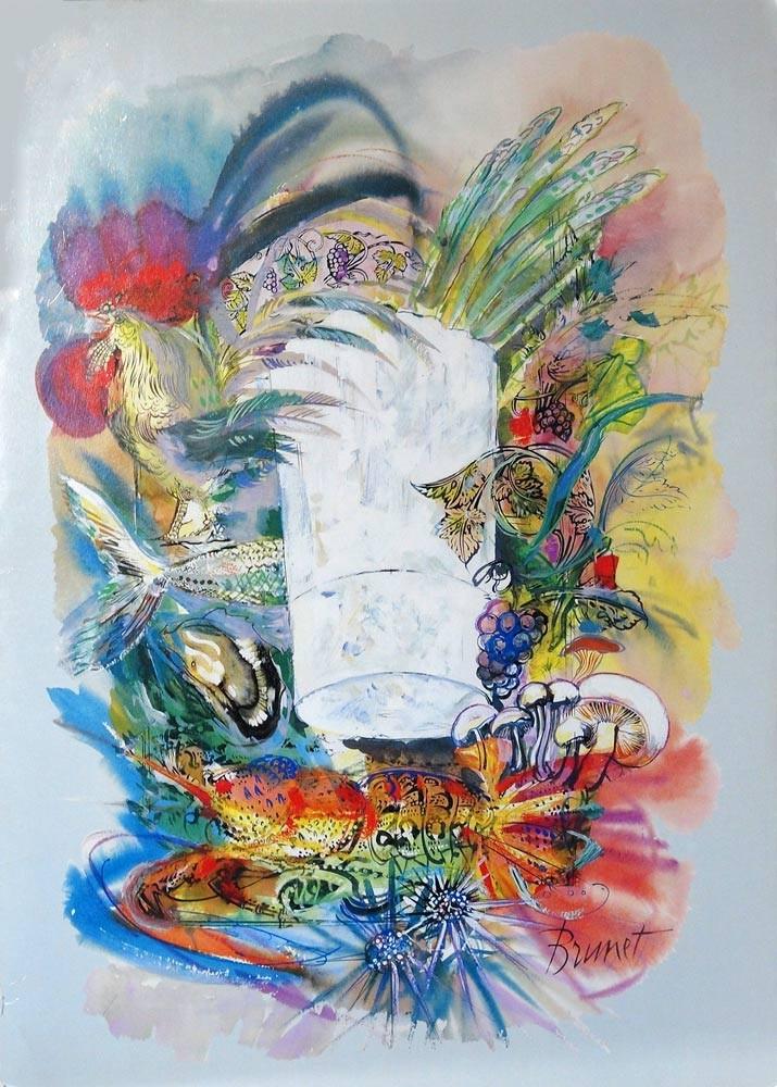 "Couverture du menu de la ""Promenade"" de Jacky & Fabrice Dallais"