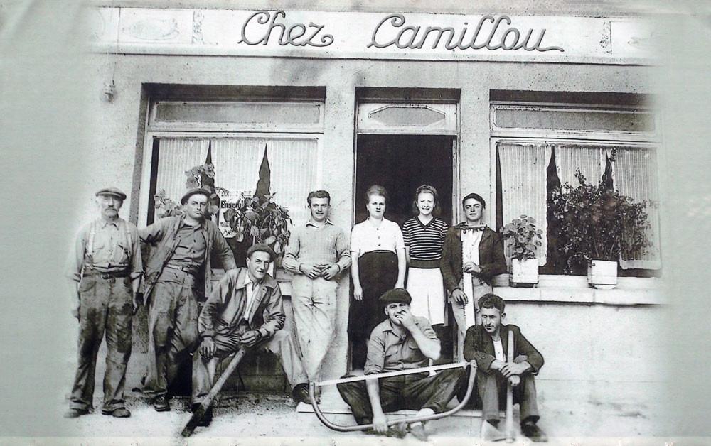 Les anciens de chez Camillou
