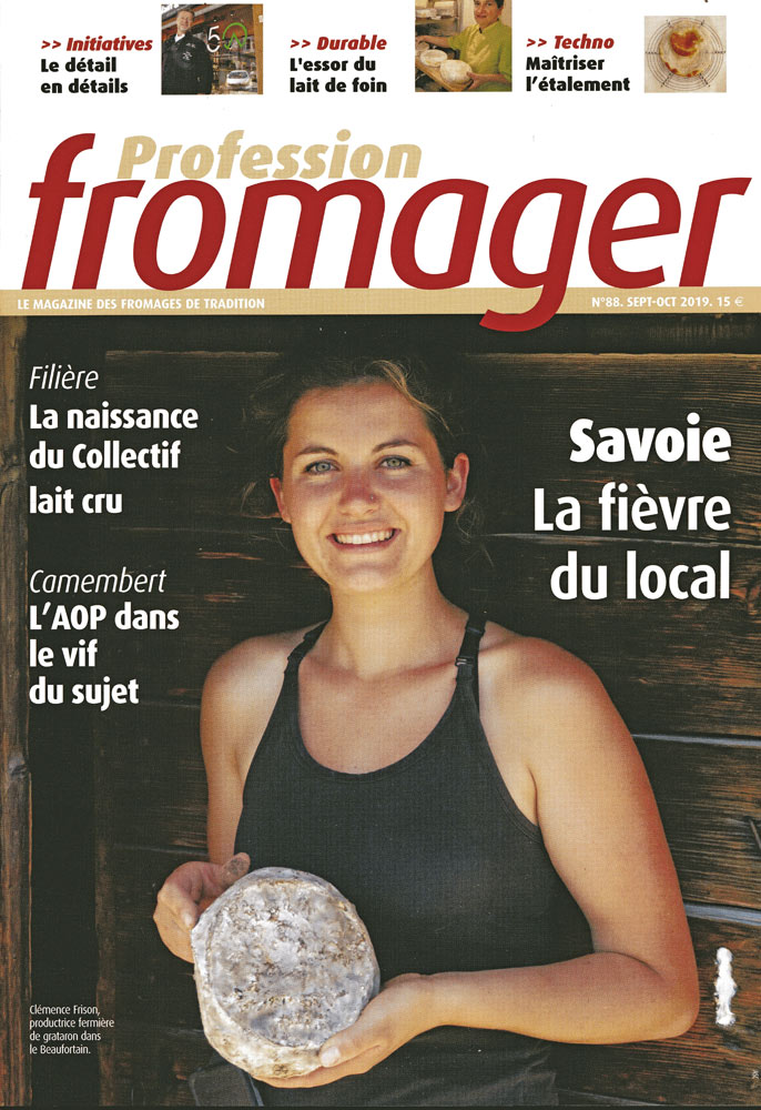 "Le magazine ""Professuon fromager"" N° 88"