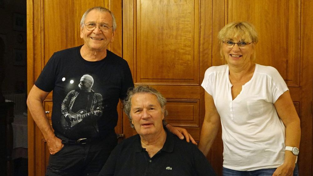 Philippe Olivier, Pascale et moi-même - 14 septembre 2016