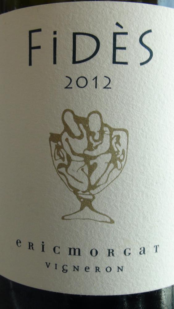 """Savennières 2013 """"Fidès"""" d'Eric Morgat"""