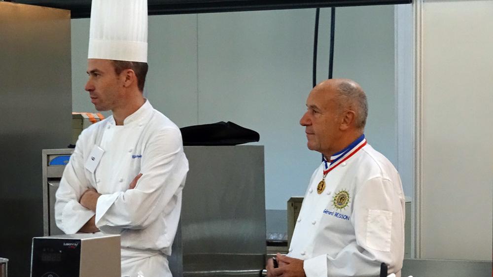 Christophe Hay et Gérard Besson MOF 1976