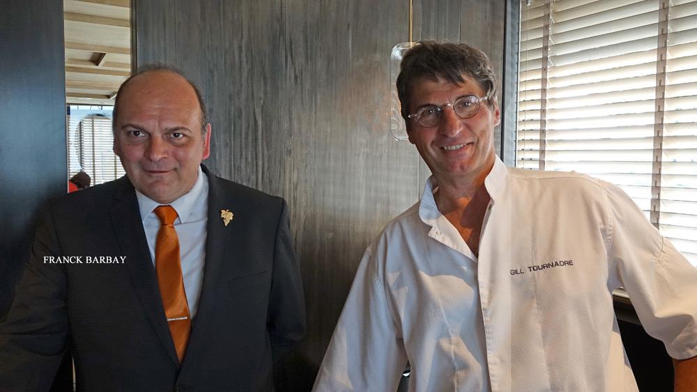 Franck Barbay et Gilles Tournadre