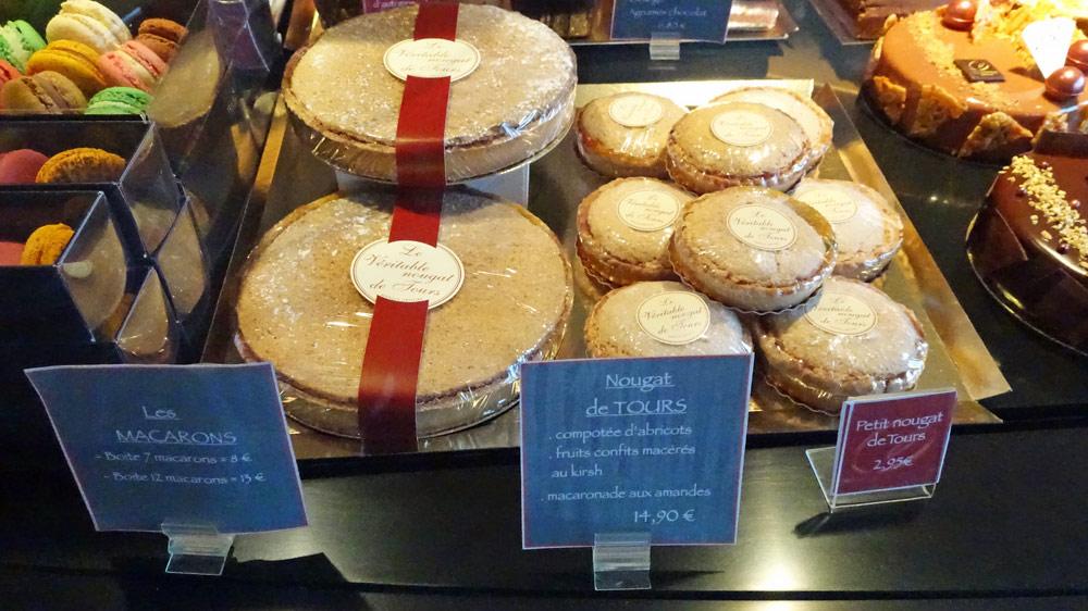Macarons - Nougat de Tours petit et grand modèle