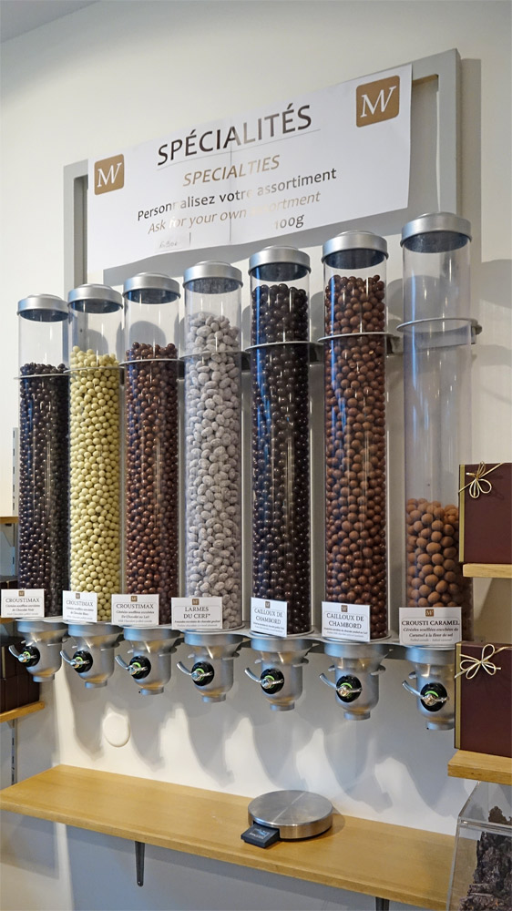 Friandises chocolatées