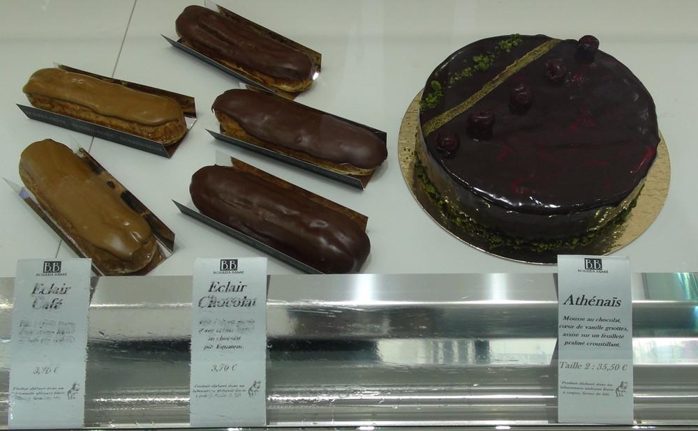 Eclairs café & chocolat - Athénaïs