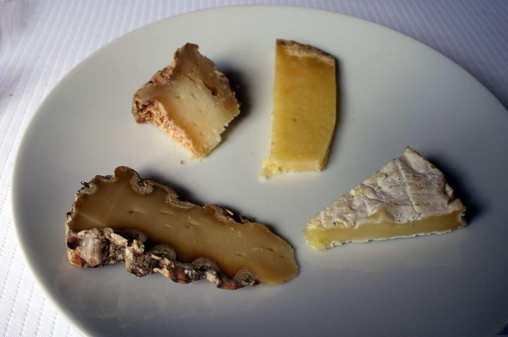 L'assiette de fromages