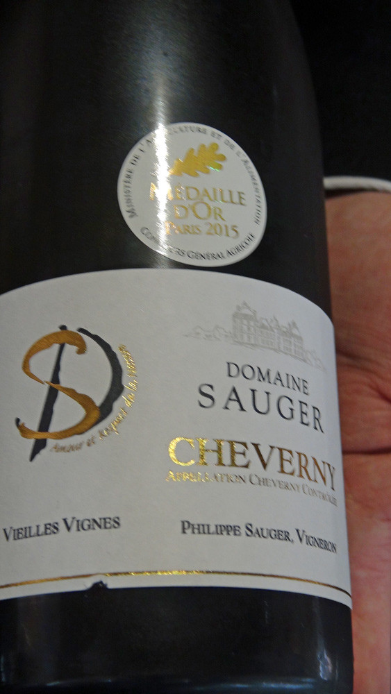 Cheverny 2014 Vieilles Vignes de Philippe Sauger