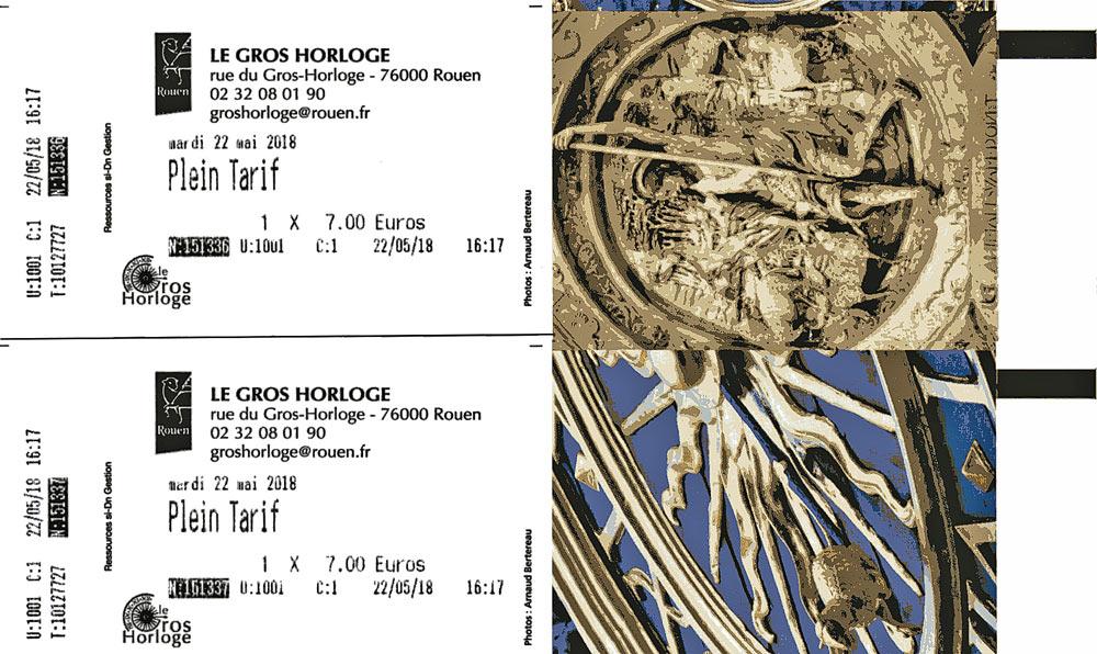 Tickets d'entrée