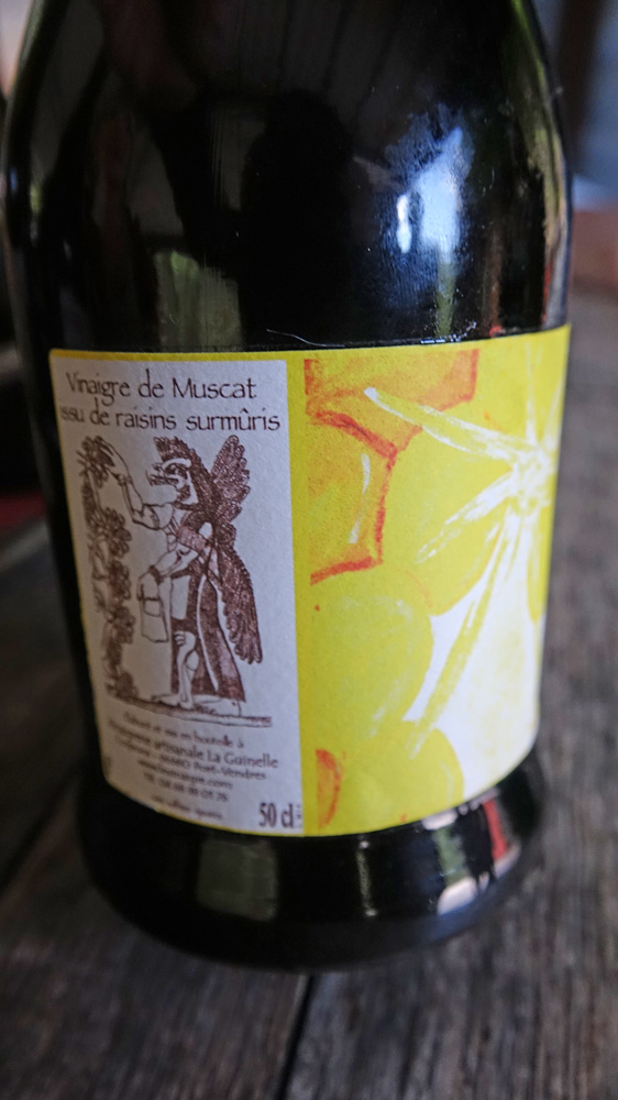 Vinaigre de Muscat de raisins surmuris