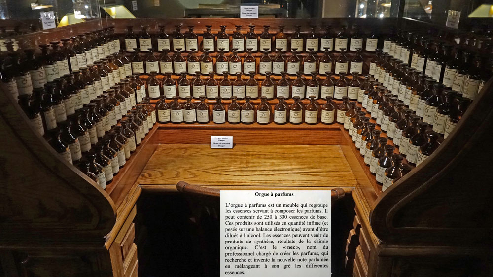 L'orgue à parfums (non opérationnel)