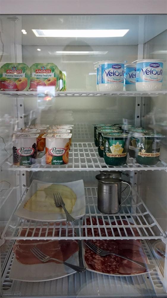L'armoire réfrigérée