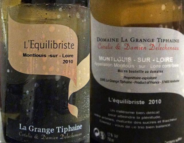 """Montlouis-sur-Loire """"L'Equilibriste"""" 2010"""