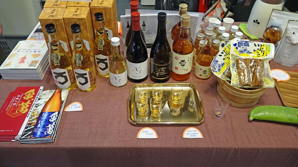 Les associations liquides pour les fromages Japonais