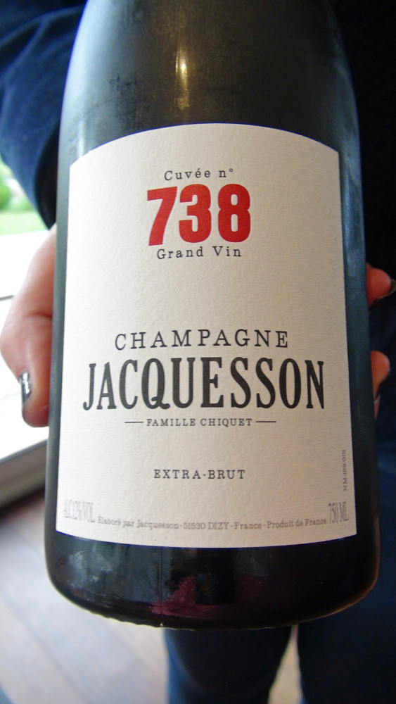 Champagne Jacquesson N° 738
