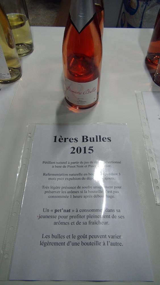 1ères Bulles 2015