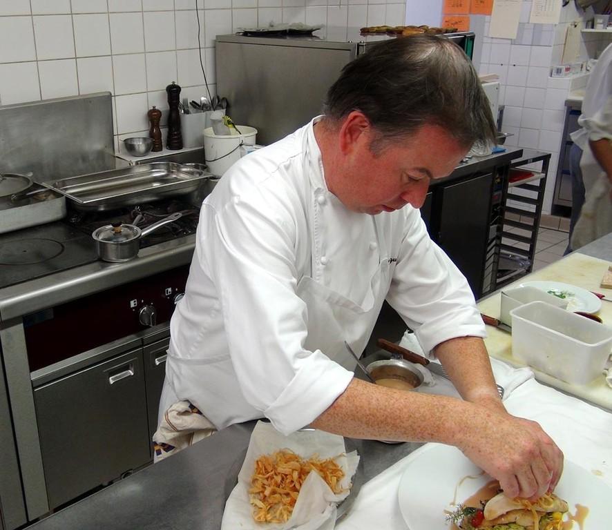 Daniel Jagin en cuisine