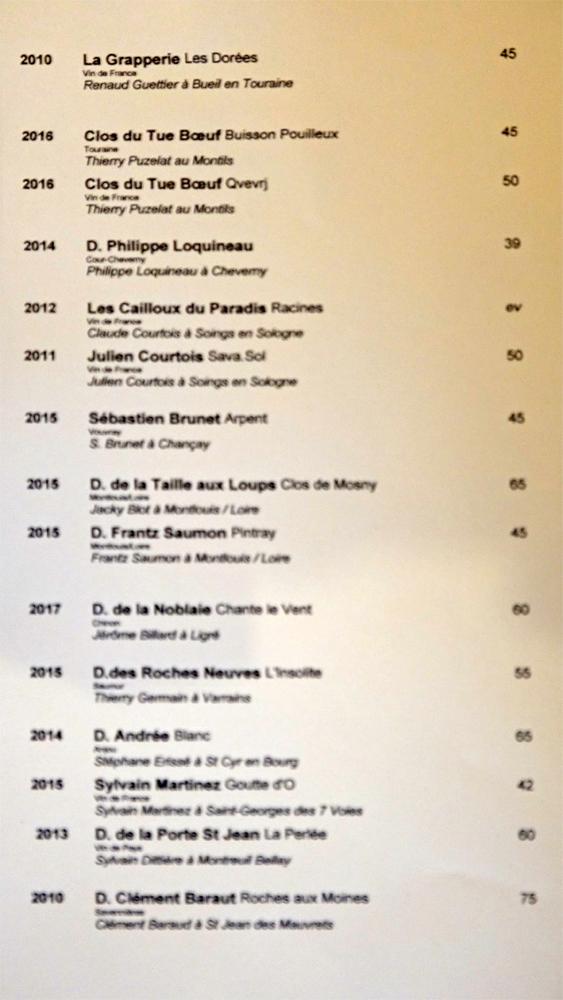 Vins blancs de Loire, suite et fin
