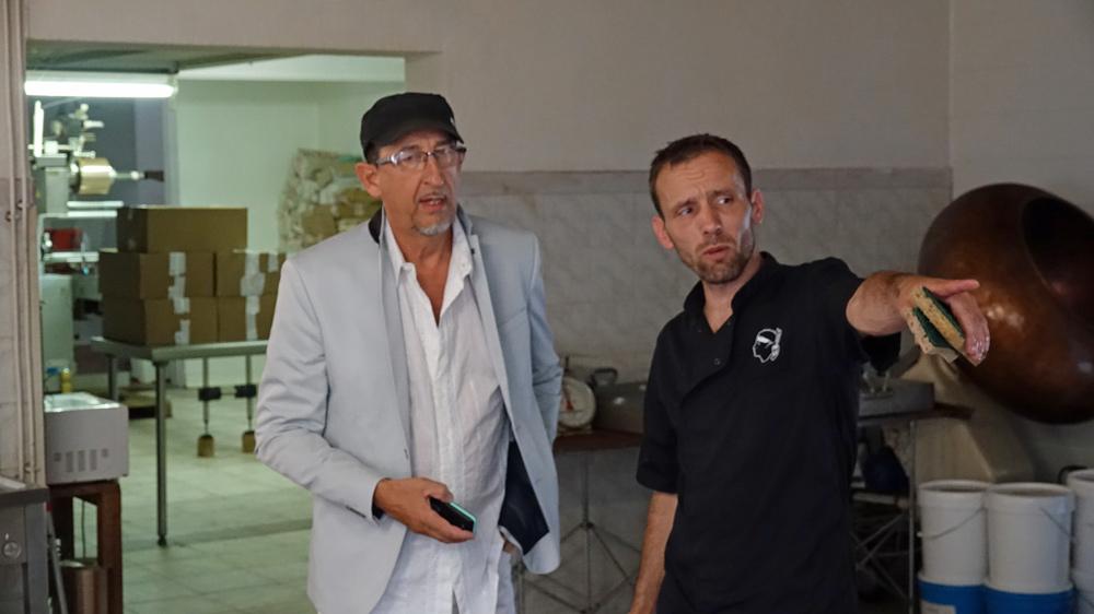 Régis Esteban et Mario