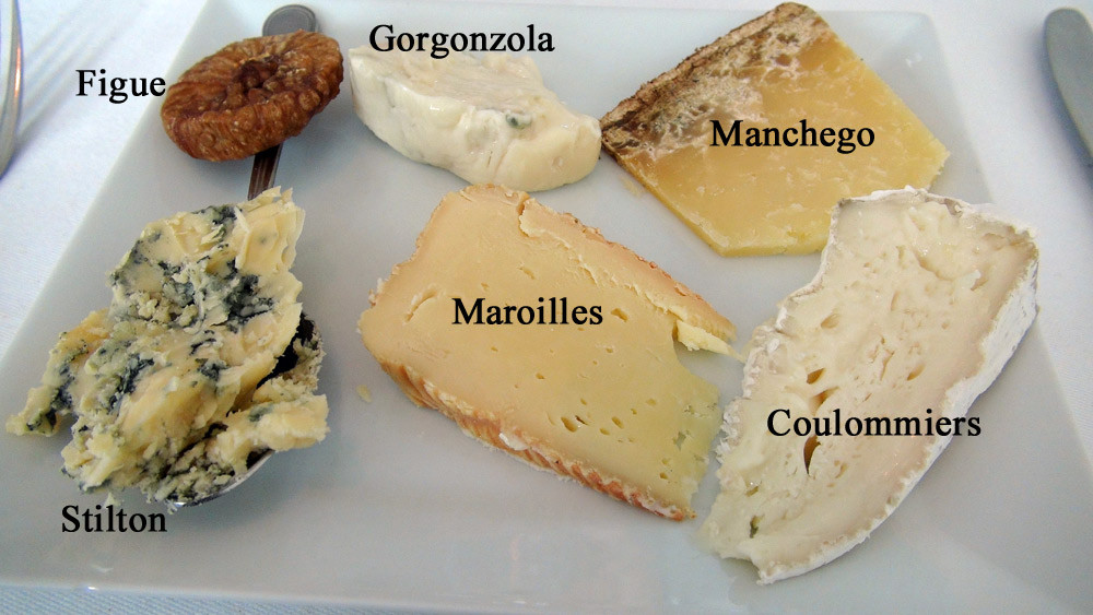 Les fromages choisis