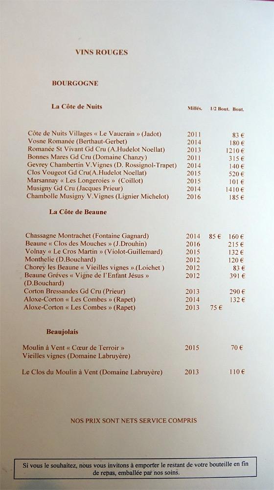 Vins rouges de Bourgogne : Côte de Nuits, de Beaune ...