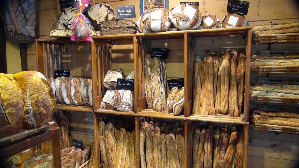 Tourtes, Pains aux céréales, Pains de ferme, Pains de Loire et Baguettes