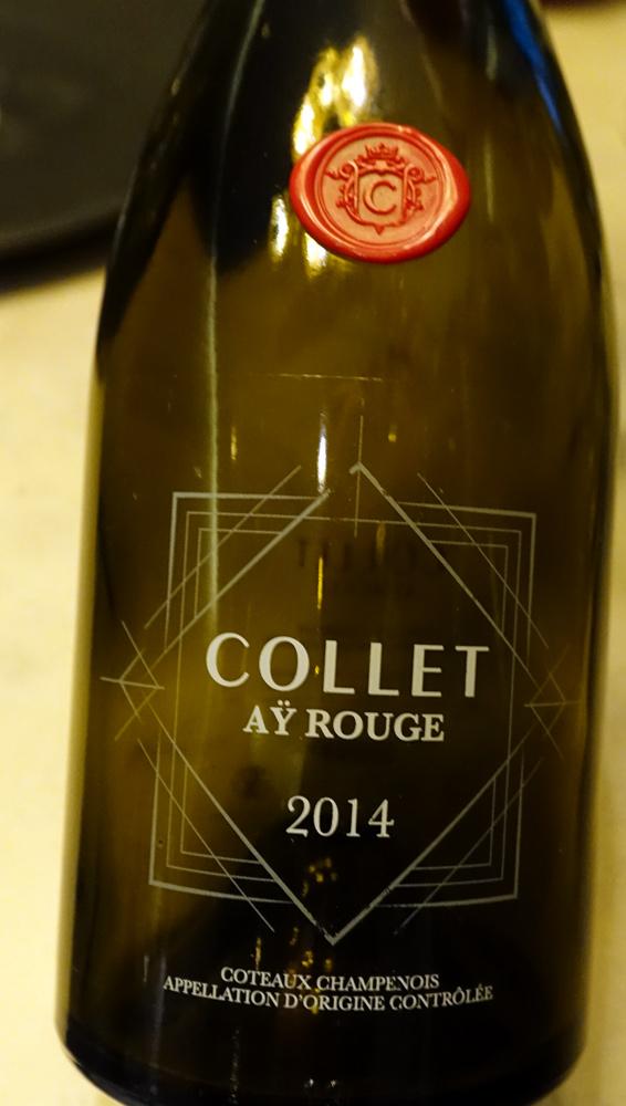 Champagne sur le 3 ème acte (Étiquette commerciale)