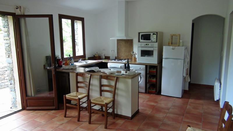 La salle à manger/salon/cuisine