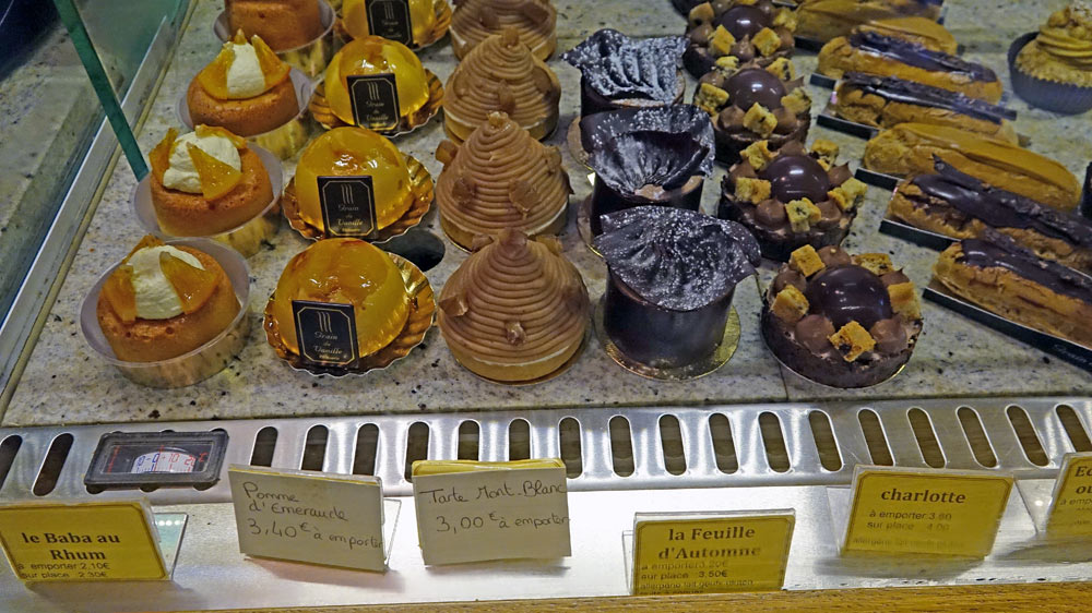 Quelques gâteaux en vente ...