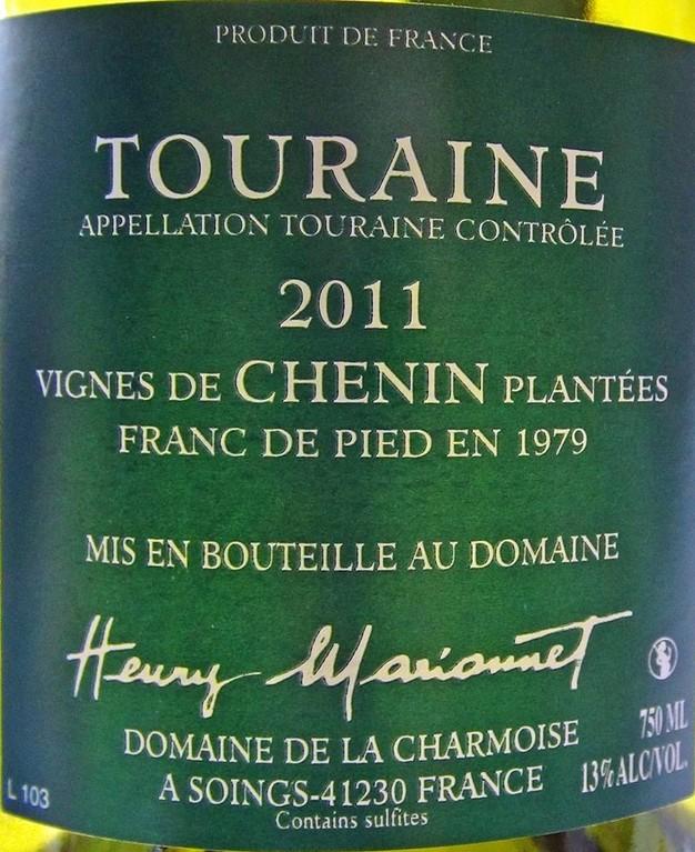 Touraine AOC Vinifera Chenin