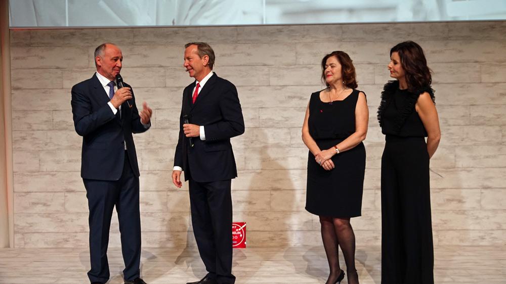 Marc Haeberlin, Michael Ellis, Juliane Caspar et Faustine Bollaert
