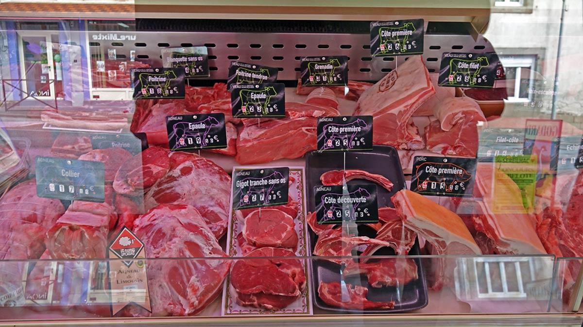 Porc, bœuf ...