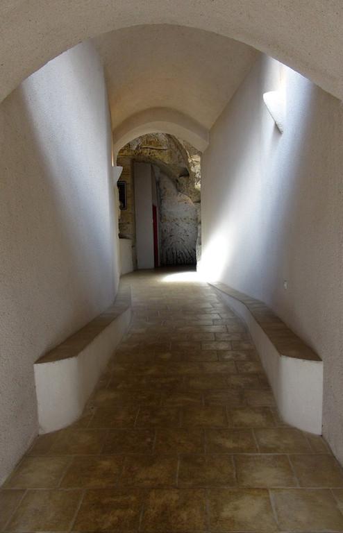 L'entrée en sous-sol